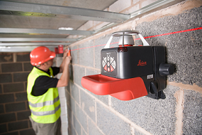 Leica roteo 35wmr niveau laser rotatif for Niveau laser pour plafond