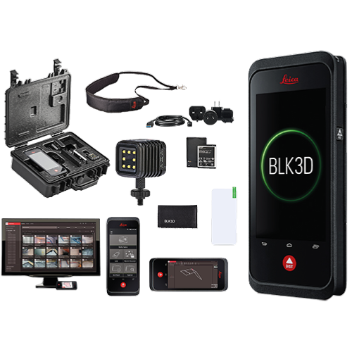 Pack imageur Leica BLK3D + abonnements + kit mission